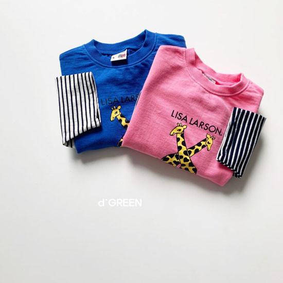 DIGREEN - Korean Children Fashion - #Kfashion4kids - Giraffe One-piece - 10