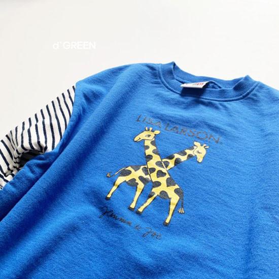 DIGREEN - Korean Children Fashion - #Kfashion4kids - Giraffe One-piece - 11