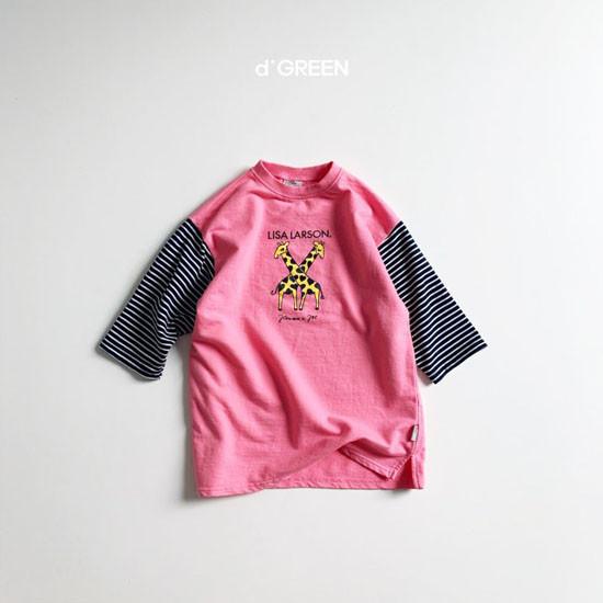 DIGREEN - Korean Children Fashion - #Kfashion4kids - Giraffe One-piece - 2