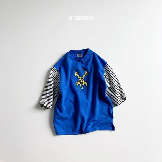 DIGREEN - Korean Children Fashion - #Kfashion4kids - Giraffe One-piece - 3