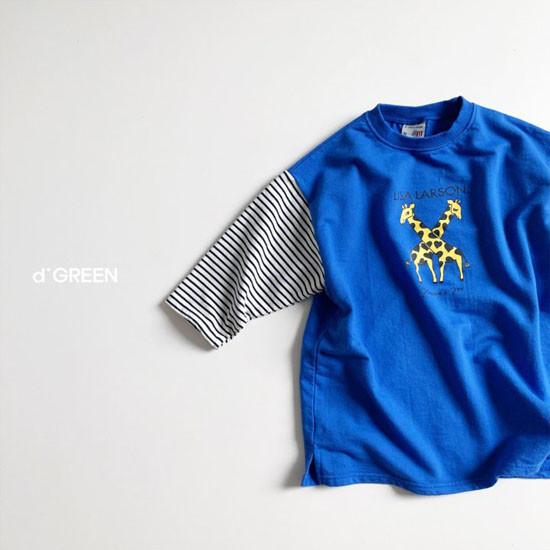 DIGREEN - Korean Children Fashion - #Kfashion4kids - Giraffe One-piece - 4