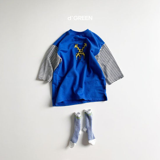 DIGREEN - Korean Children Fashion - #Kfashion4kids - Giraffe One-piece - 7