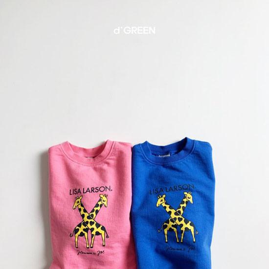 DIGREEN - Korean Children Fashion - #Kfashion4kids - Giraffe One-piece - 8