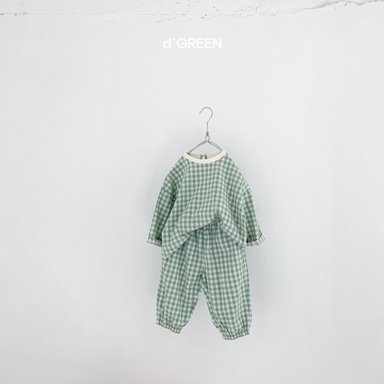 DIGREEN - Korean Children Fashion - #Kfashion4kids - Slow Top Bottom Set - 4