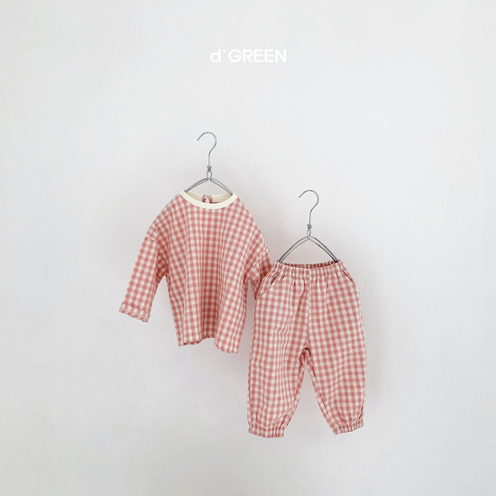 DIGREEN - Korean Children Fashion - #Kfashion4kids - Slow Top Bottom Set - 5
