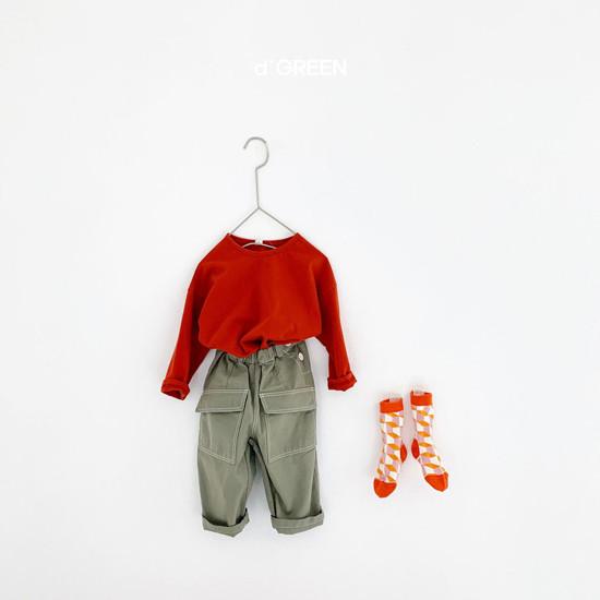 DIGREEN - Korean Children Fashion - #Kfashion4kids - Color Paper Tee - 11