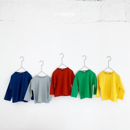 DIGREEN - Korean Children Fashion - #Kfashion4kids - Color Paper Tee - 2
