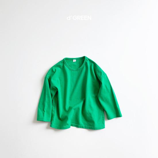 DIGREEN - Korean Children Fashion - #Kfashion4kids - Color Paper Tee - 7