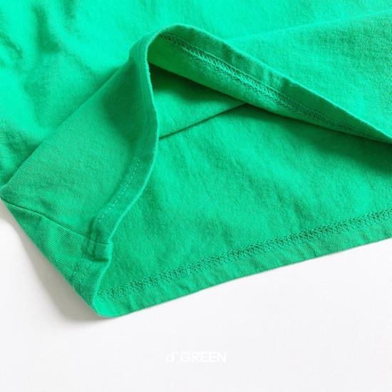 DIGREEN - Korean Children Fashion - #Kfashion4kids - Color Paper Tee - 9