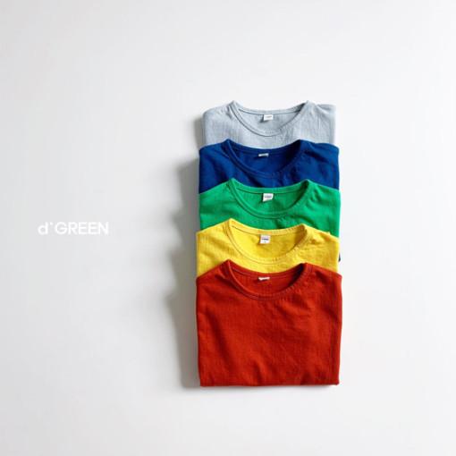 DIGREEN - BRAND - Korean Children Fashion - #Kfashion4kids - Color Paper Tee