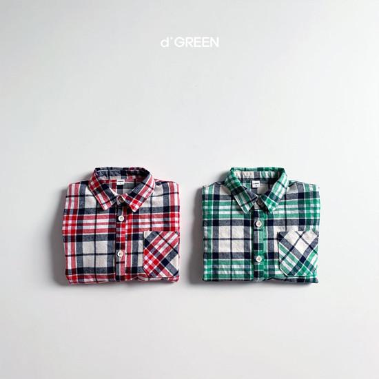 DIGREEN - Korean Children Fashion - #Kfashion4kids - Blooming Shirt Jacket