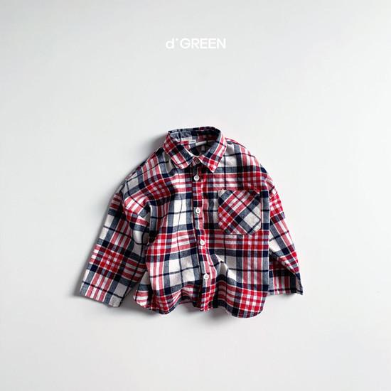 DIGREEN - Korean Children Fashion - #Kfashion4kids - Blooming Shirt Jacket - 5