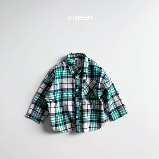 DIGREEN - Korean Children Fashion - #Kfashion4kids - Blooming Shirt Jacket - 6