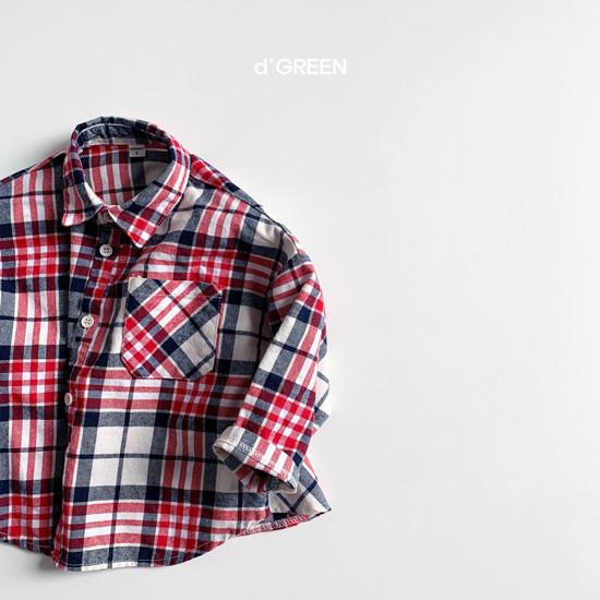 DIGREEN - Korean Children Fashion - #Kfashion4kids - Blooming Shirt Jacket - 7