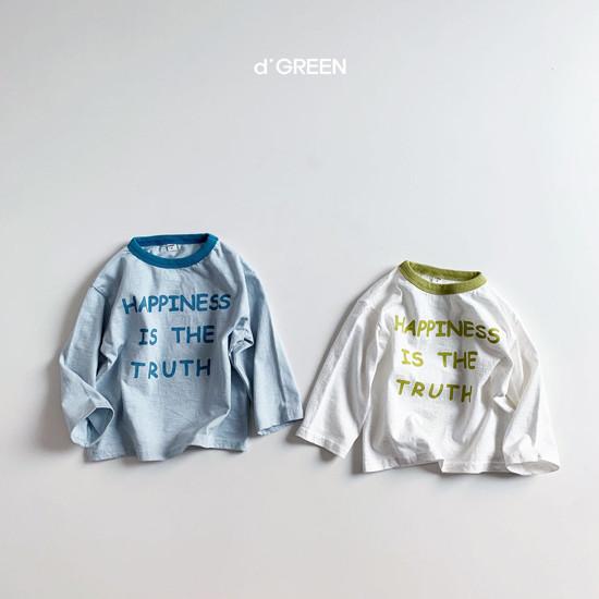 DIGREEN - Korean Children Fashion - #Kfashion4kids - Happiness Tee