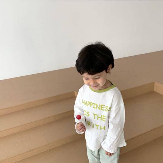 DIGREEN - Korean Children Fashion - #Kfashion4kids - Happiness Tee - 12
