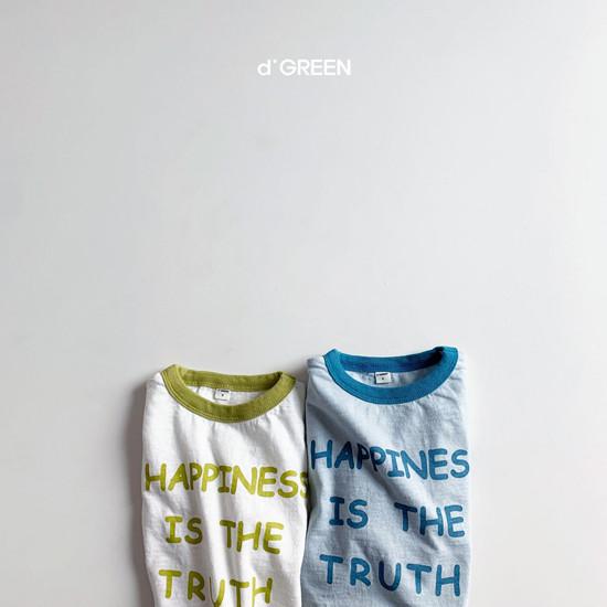 DIGREEN - Korean Children Fashion - #Kfashion4kids - Happiness Tee - 2