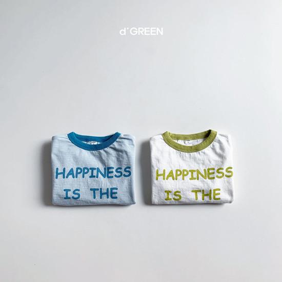 DIGREEN - Korean Children Fashion - #Kfashion4kids - Happiness Tee - 3