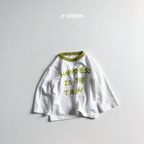 DIGREEN - Korean Children Fashion - #Kfashion4kids - Happiness Tee - 5