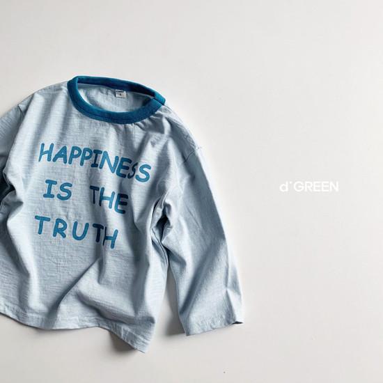 DIGREEN - Korean Children Fashion - #Kfashion4kids - Happiness Tee - 6