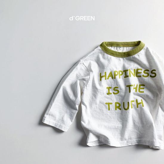 DIGREEN - Korean Children Fashion - #Kfashion4kids - Happiness Tee - 7