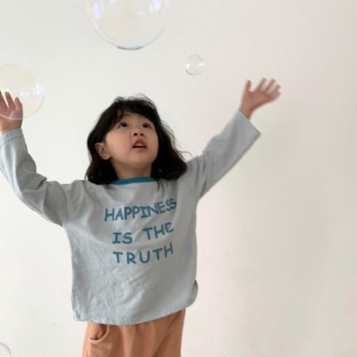 DIGREEN - BRAND - Korean Children Fashion - #Kfashion4kids - Happiness Tee