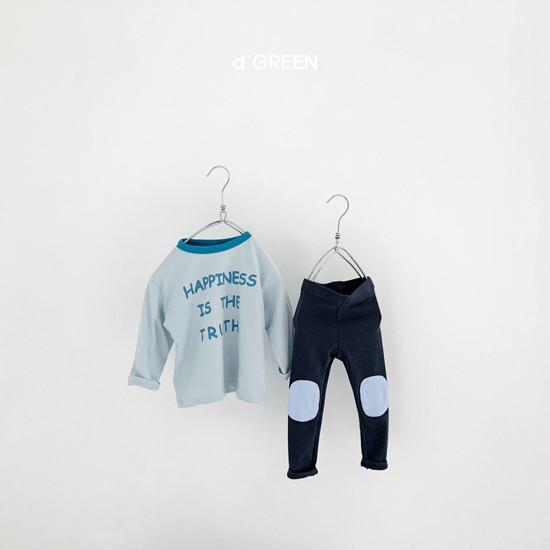 DIGREEN - Korean Children Fashion - #Kfashion4kids - Bread Patch Leggings - 12
