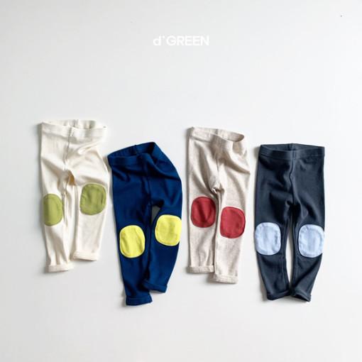 DIGREEN - BRAND - Korean Children Fashion - #Kfashion4kids - Bread Patch Leggings