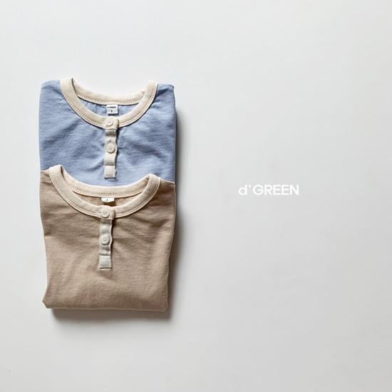 DIGREEN - Korean Children Fashion - #Kfashion4kids - Lecture Henlry Tee