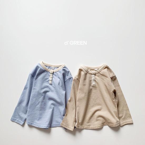 DIGREEN - Korean Children Fashion - #Kfashion4kids - Lecture Henlry Tee - 4