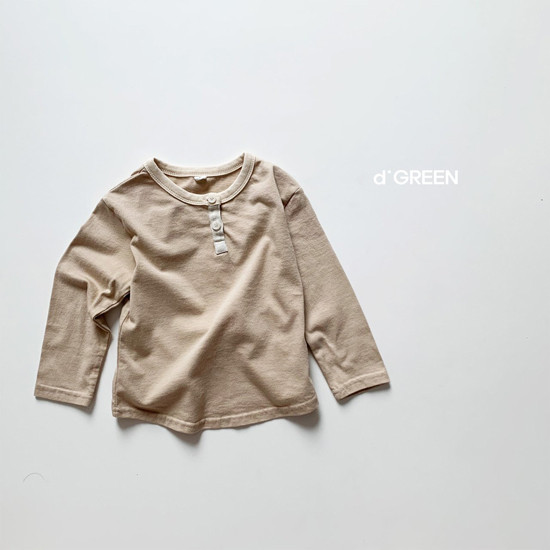 DIGREEN - Korean Children Fashion - #Kfashion4kids - Lecture Henlry Tee - 6