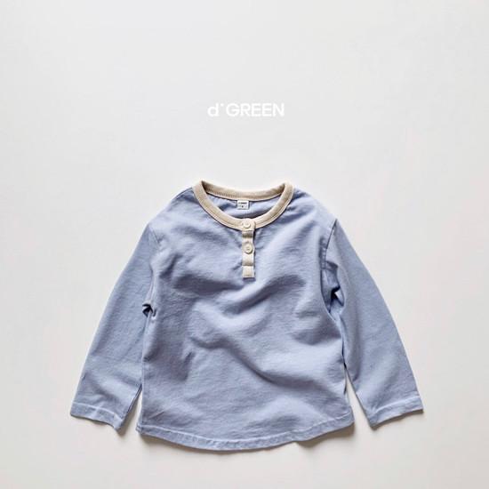 DIGREEN - Korean Children Fashion - #Kfashion4kids - Lecture Henlry Tee - 7