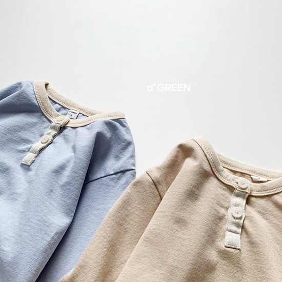 DIGREEN - Korean Children Fashion - #Kfashion4kids - Lecture Henlry Tee - 9