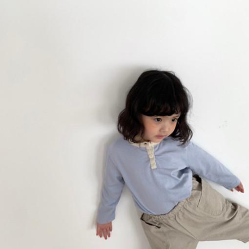 DIGREEN - BRAND - Korean Children Fashion - #Kfashion4kids - Lecture Henlry Tee