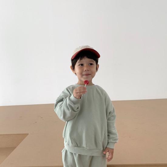 DIGREEN - Korean Children Fashion - #Kfashion4kids - Daily Top Bottom Set - 11