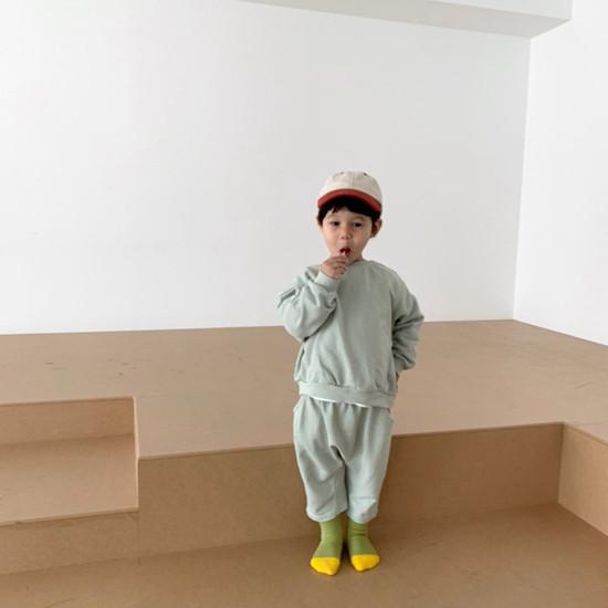DIGREEN - Korean Children Fashion - #Kfashion4kids - Daily Top Bottom Set - 12