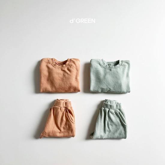 DIGREEN - BRAND - Korean Children Fashion - #Kfashion4kids - Daily Top Bottom Set