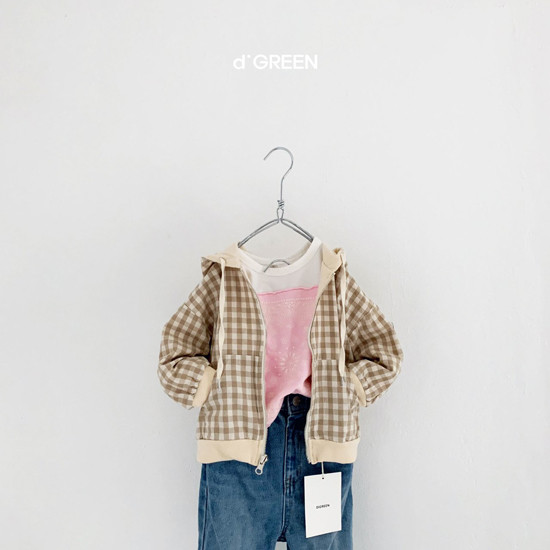 DIGREEN - Korean Children Fashion - #Kfashion4kids - Hood Reversible Zip-up Jacket - 10