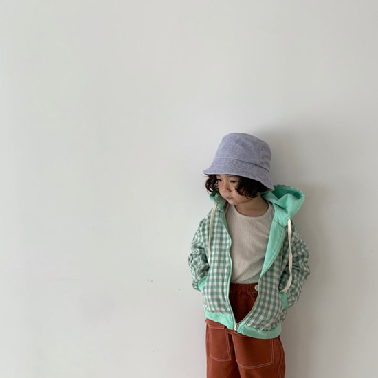 DIGREEN - Korean Children Fashion - #Kfashion4kids - Hood Reversible Zip-up Jacket - 11