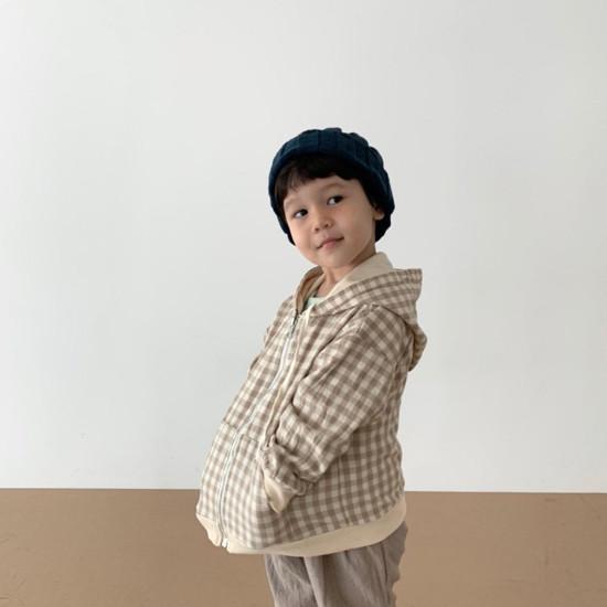 DIGREEN - Korean Children Fashion - #Kfashion4kids - Hood Reversible Zip-up Jacket - 12