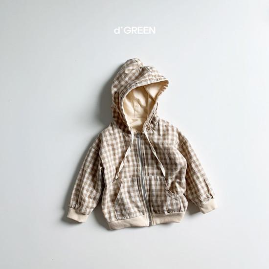 DIGREEN - Korean Children Fashion - #Kfashion4kids - Hood Reversible Zip-up Jacket - 2