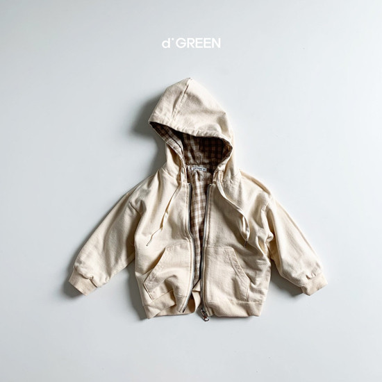 DIGREEN - Korean Children Fashion - #Kfashion4kids - Hood Reversible Zip-up Jacket - 3