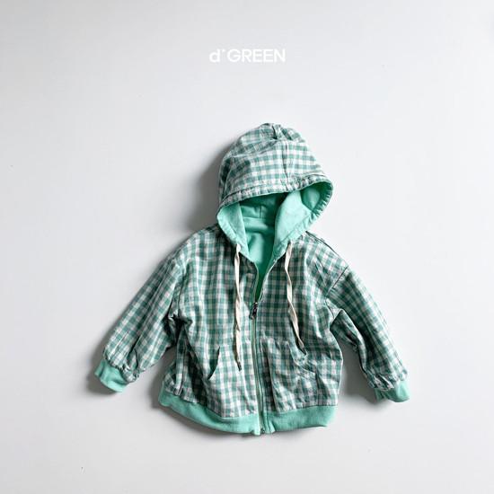 DIGREEN - Korean Children Fashion - #Kfashion4kids - Hood Reversible Zip-up Jacket - 4