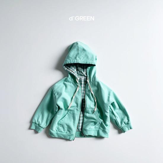 DIGREEN - Korean Children Fashion - #Kfashion4kids - Hood Reversible Zip-up Jacket - 5
