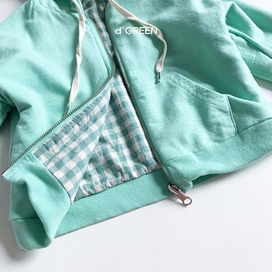 DIGREEN - Korean Children Fashion - #Kfashion4kids - Hood Reversible Zip-up Jacket - 6