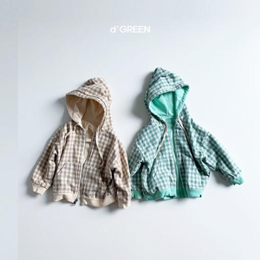 DIGREEN - BRAND - Korean Children Fashion - #Kfashion4kids - Hood Reversible Zip-up Jacket