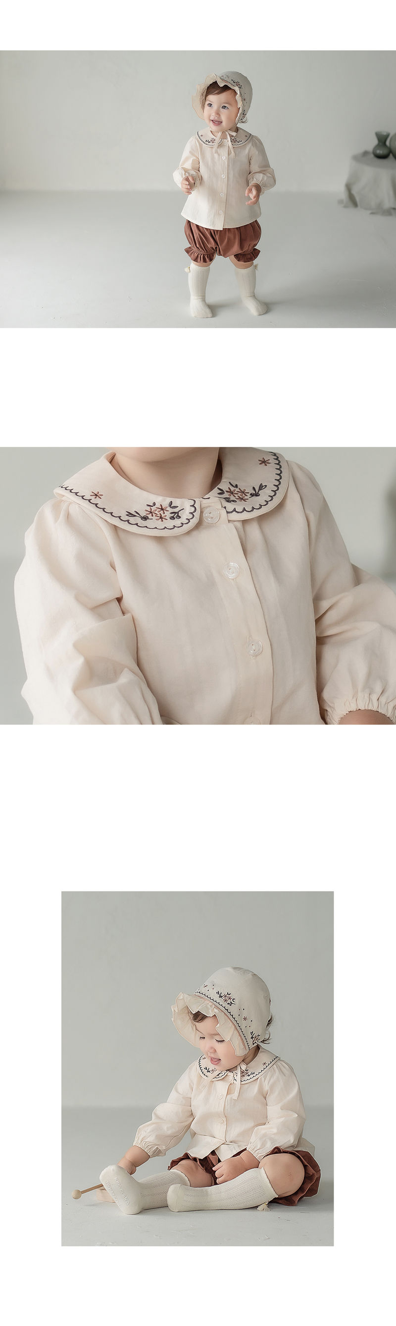 HAPPY PRINCE - Korean Children Fashion - #Kfashion4kids - Renova Baby Blouse - 2