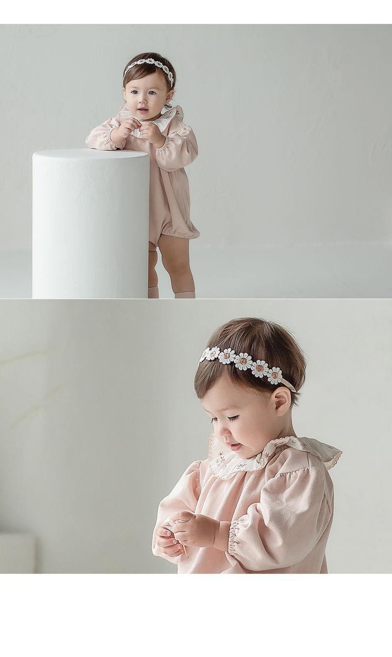 HAPPY PRINCE - Korean Children Fashion - #Kfashion4kids - Flower Lover Baby Hairband [set of 5] - 2