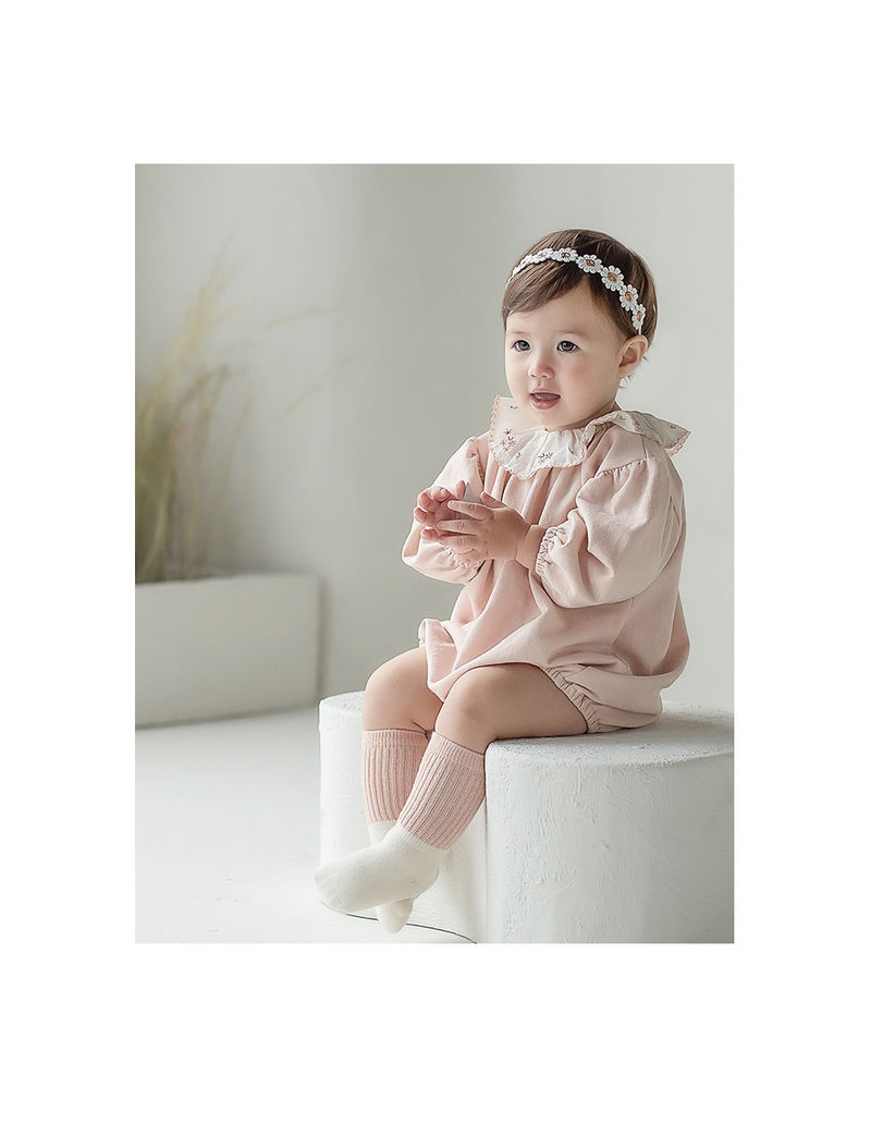 HAPPY PRINCE - Korean Children Fashion - #Kfashion4kids - Flower Lover Baby Hairband [set of 5] - 3