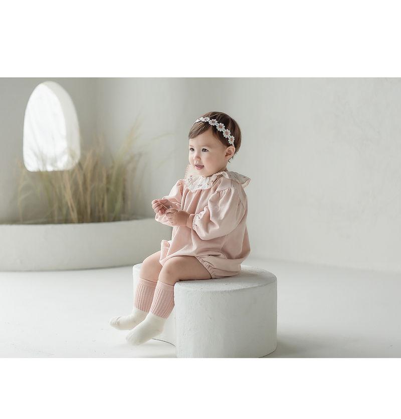 HAPPY PRINCE - Korean Children Fashion - #Kfashion4kids - Flower Lover Baby Hairband [set of 5] - 4